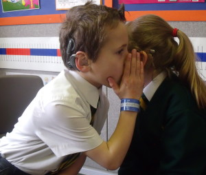 Deaf Children Can Listen And Talk
