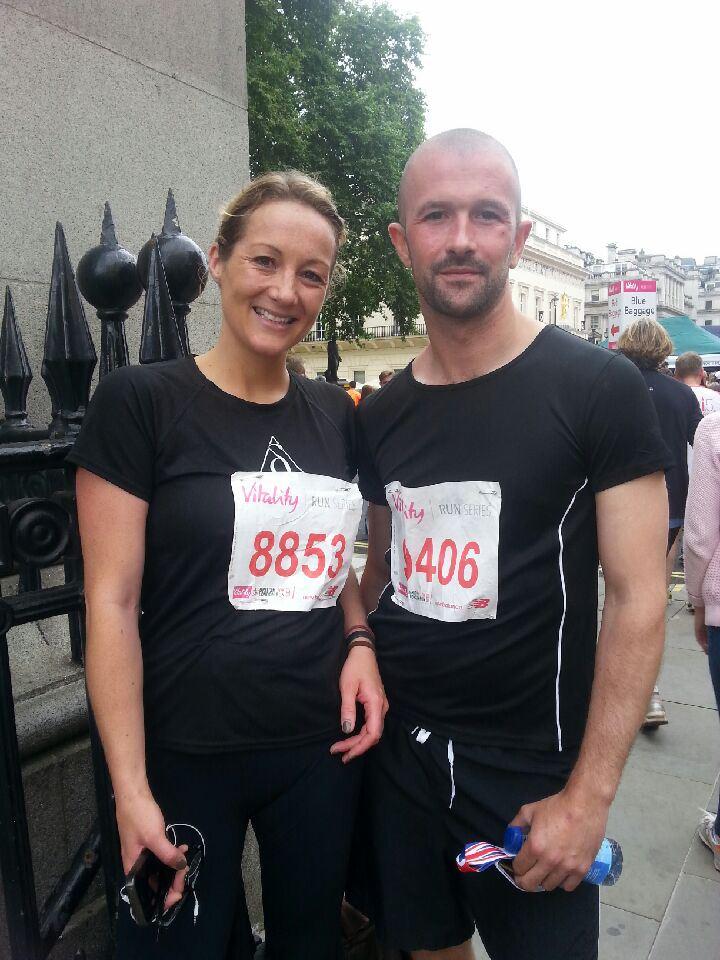 Running The British Vitality 10K