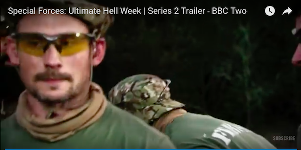 John Paul, DELTA Volunteer on BBC2's Special Forces Ultimate Hell Week